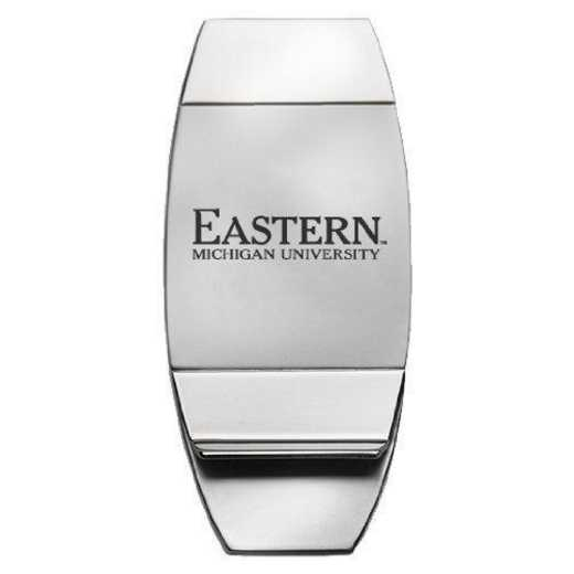1145-EASTMICH-L1-CLC: LXG MONEY CLIP, Eastern Michigan